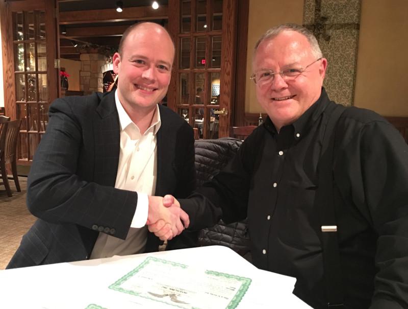 Bill and Brad Signing